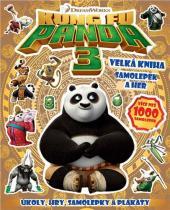 Pemic Kung Fu Panda 3 Velká kniha samolepek a her