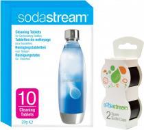 Sodastream víčko černé 2ks + tablety soda