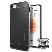 Spigen Neo Hybrid pro Apple iPhone 5 / 5S / SE Satin Silver (041CS20185)