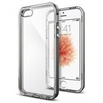 Spigen Neo Hybrid pro Apple iPhone 5 / 5S / SE Crystal Gunmetal (041CS20181)