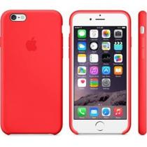 Apple iPhone 6 Silicone Case Red (MGQH2ZM/A)