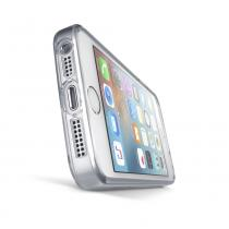 CellularLine Clear Duo pro Apple iPhone 5 / 5S / SE čiré (CLEARDUOIPH5T)