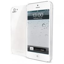 CELLY Gelskin pro Apple iPhone 5 čirá (GELSKIN185)