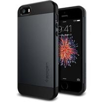 Spigen Slim Armor pro iPhone SE / 5s / 5 Gunmetal (041CS20174)