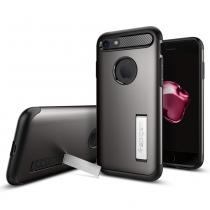 Spigen Slim Armor pro iPhone 7 gunmetal (042CS20301)