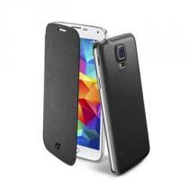 CellularLine Backbook pro Samsung Galaxy S5 / S5 Neo černá (BACKBOOKGALS5BK)