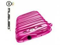 Musubo Rubber Band pro Samsung Galaxy S3 růžová