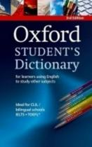 Oxford Student's Dictionary 3rd Edition + CD-ROM