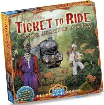 Blackfire Ticket to Ride Map Collection: Volume 3 - The Heart of Africa