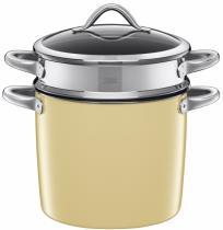 Silit hrnec na těstoviny Vitaliano Vanilla 8.5l 24cm