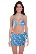 Aqua E plavky se sukénkou modrá