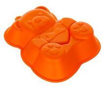 BANQUET Forma silikonová CULINARIA Orange 14,2 x 12,3 x 3,5 cm