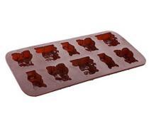 BANQUET Formičky na čokoládu silikonové CULINARIA Brown 20,4 x 10,5 cm