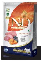 N&D Grain Free Pumpkin Adult Mini Lamb Blueberry 2,5 kg