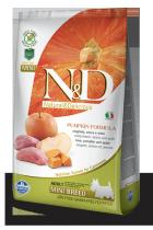N&D Grain Free Pumpkin Adult Mini Boar Apple 7 kg