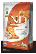 N&D Grain Free Pumpkin Adult Mini Codfish Orange 2,5 kg