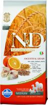 N&D Low Grain Dog Adult Codfish and Orange 12 kg
