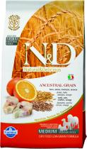 N&D Low Grain Dog Adult Codfish and Orange 2,5 kg