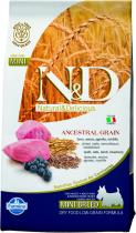 N&D Low Grain Dog Adult Mini Lamb and Blueberry 7 kg