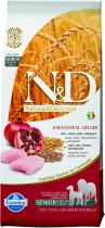 N&D Low Grain Senior M/L Chicken Pomegranate 12 kg
