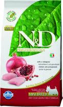 N&D Grain Free Dog Adult Mini Chicken Pomegranate 2,5 kg