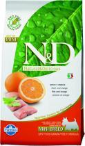 N&D Grain Free Dog Adult Mini Fish Orange 2,5 kg