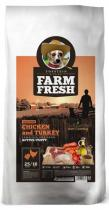 Farm Fresh Chicken Turkey Active Puppy 15 kg