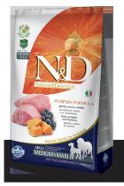 N&D Grain Free Pumpkin Adult Lamb Blueberry 2,5 kg