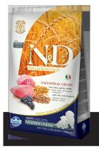 N&D Low Grain Dog Puppy Lamb Blueberry 12 kg