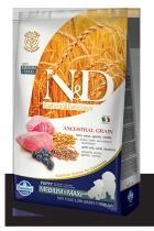 N&D Low Grain Dog Puppy Lamb Blueberry 12 kg