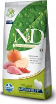 N&D Grain Free Dog Adult Maxi Boar Apple 12 kg