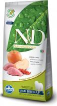 N&D Grain Free Dog Adult Maxi Boar Apple 12 kg