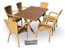 V- Garden Set nábytku AXEL 6 AL