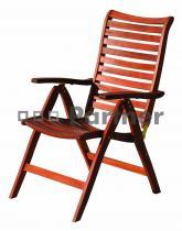 Deokork Bordeaux židle