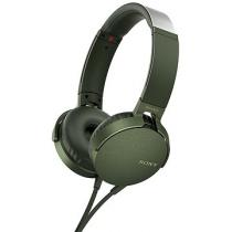 Sony MDR-XB550AP zelená (MDRXB550APG.CE7