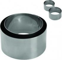VCAS Forma na pečení - tvořítko 2 ks 9/7,5x5 cm nerez