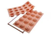 Silikomart Silikonová forma na dortíky růžičky