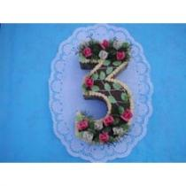 Felcman Číslo 3 dortová forma se dnem