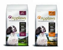 Applaws Dog Adult Small & Medium Breed Chicken & Lamb + Adult Small & Medium Breed Chicken 2x7,5kg