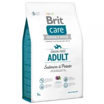 Brit Care Dog Grain Free Adult Small & Medium Breed Salmon & Potato 3kg