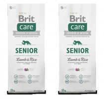 Brit Care Dog Senior Lamb & Rice 2x12kg