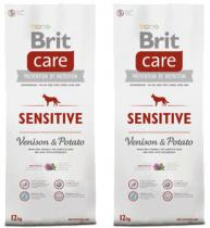 Brit Care Dog Sensitive Venison & Potato 2x12kg