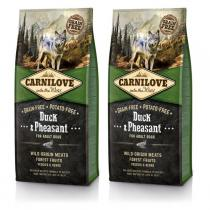 Carnilove Dog Duck & Pheasant for Adult 2x12kg