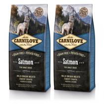 Carnilove Dog Salmon for Adult 2x12kg