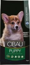 CIBAU Dog Puppy Medium 2x12kg