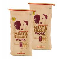 Magnusson Meat & Biscuit WORK 2 x 14kg