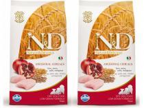 N&D Low Grain DOG Puppy Chicken & Pomegranate 2x12kg