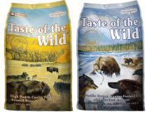 Taste of the Wild - High Prairie + Pacific Stream 2x13kg