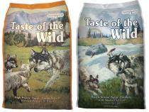 Taste of the Wild High Prairie Puppy + Pacific Stream Puppy 2 x 13kg