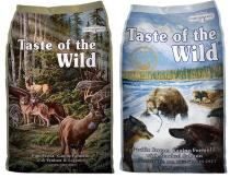 Taste of the Wild Pine Forest + Pacific Stream 2 x 13kg